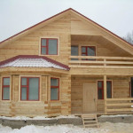 Дом конструктор из бруса