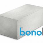Блоки Бонолит