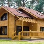 Как быстро можно построить дом из клееного бруса