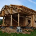 Применение сухого леса в строительстве домов