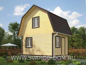 Недорогие каркасные дома под ключ