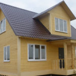 Каркасный дом для круглогодичного проживания